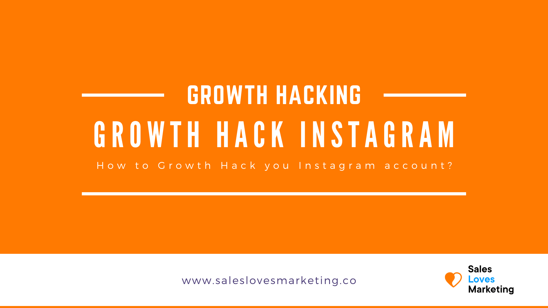 Step by step plan on how you can growth hack your instagram account