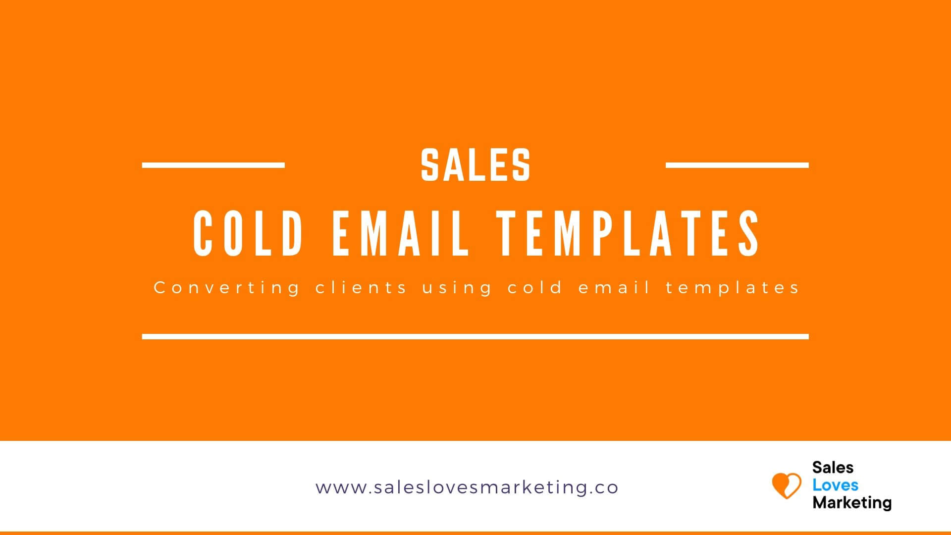 Start converting prospects by using cold emails, get free cold email templates