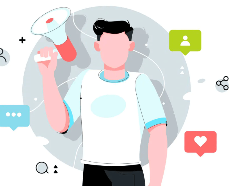 Influencer Marketing visual, get more brand exposure by using influencers