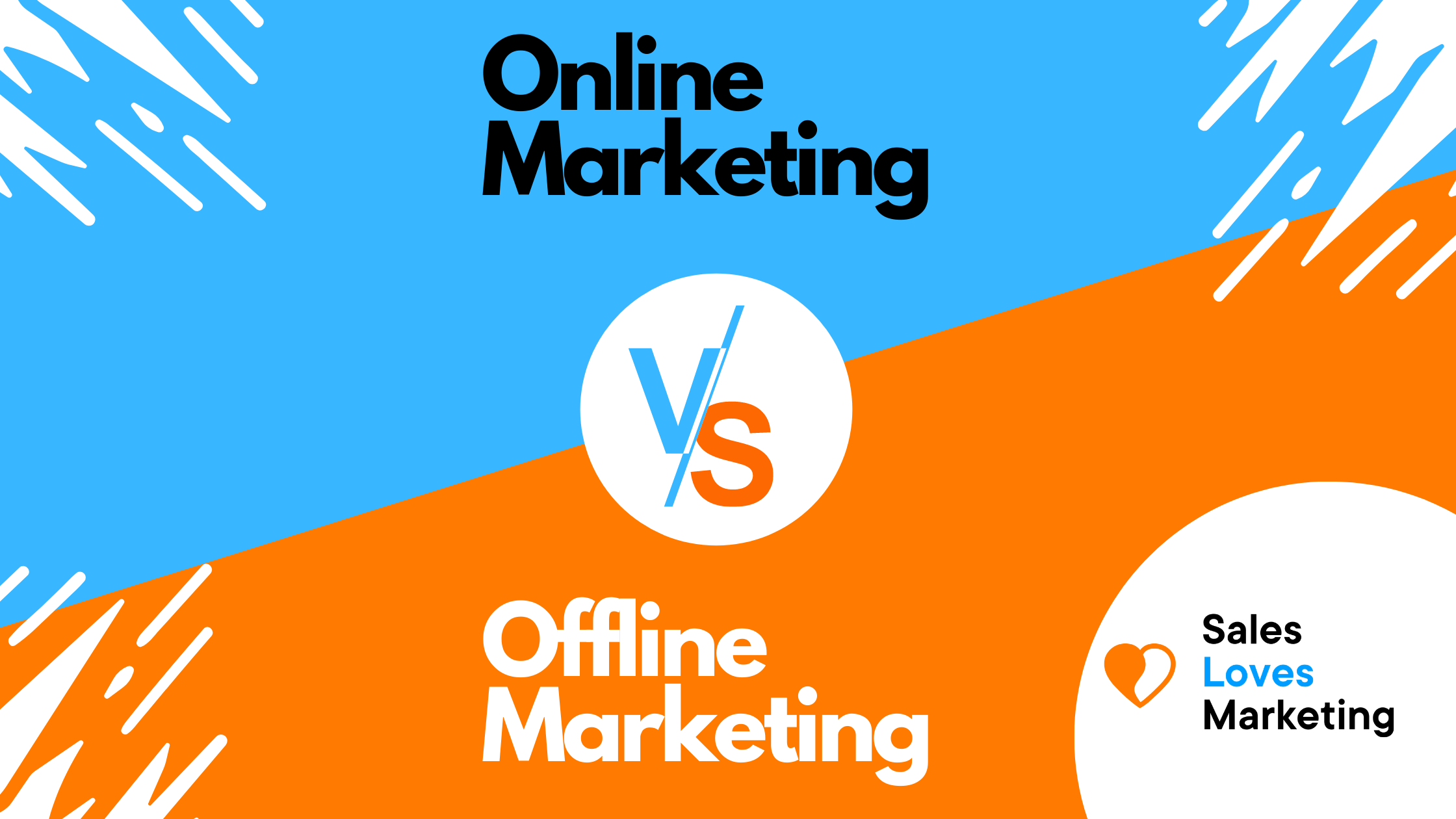 A comparison between online and offline marketing, learn about what the better choice is for you