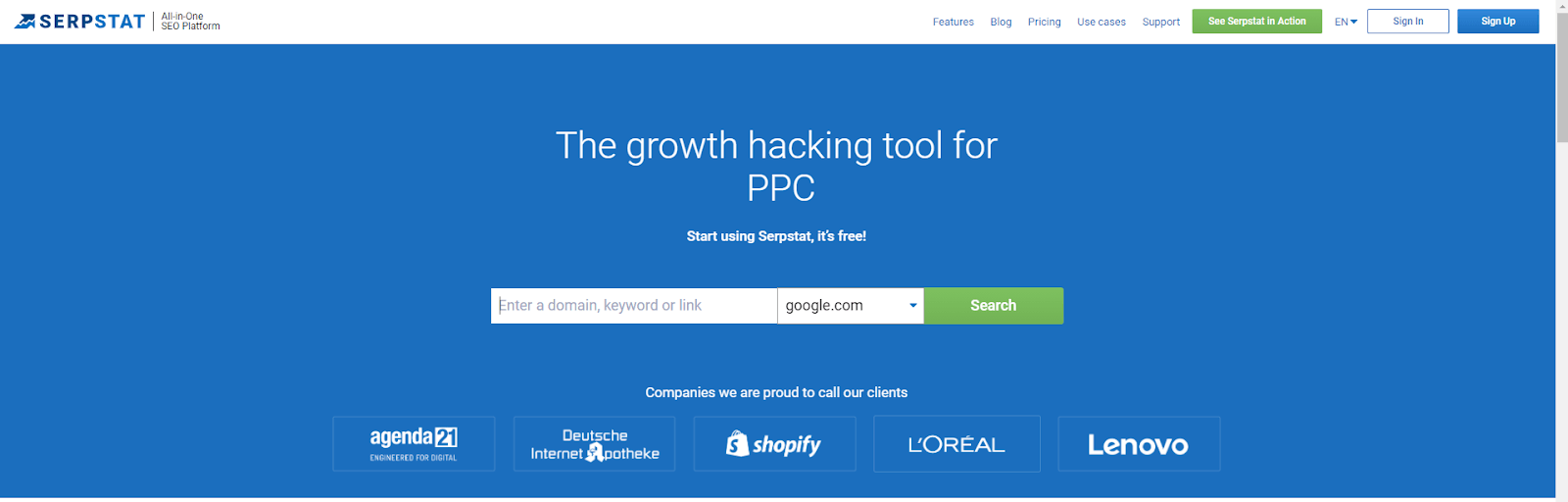 Growth Hacking PPC - Serpstat