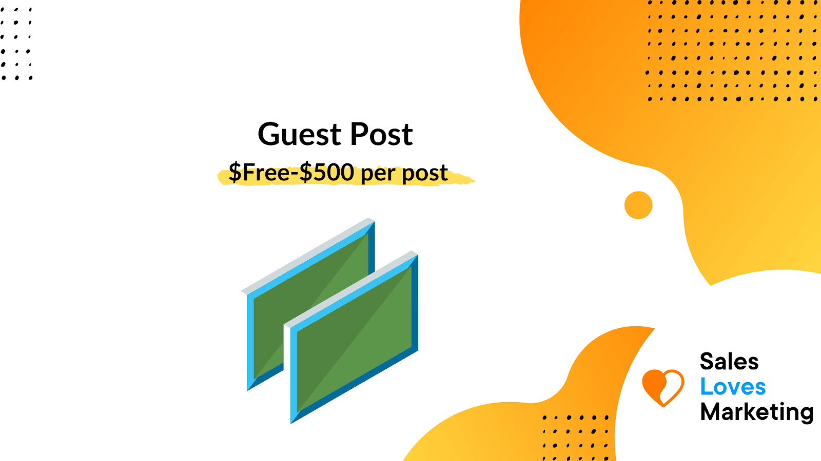 Average cost of placing a guest blog per post on a different site