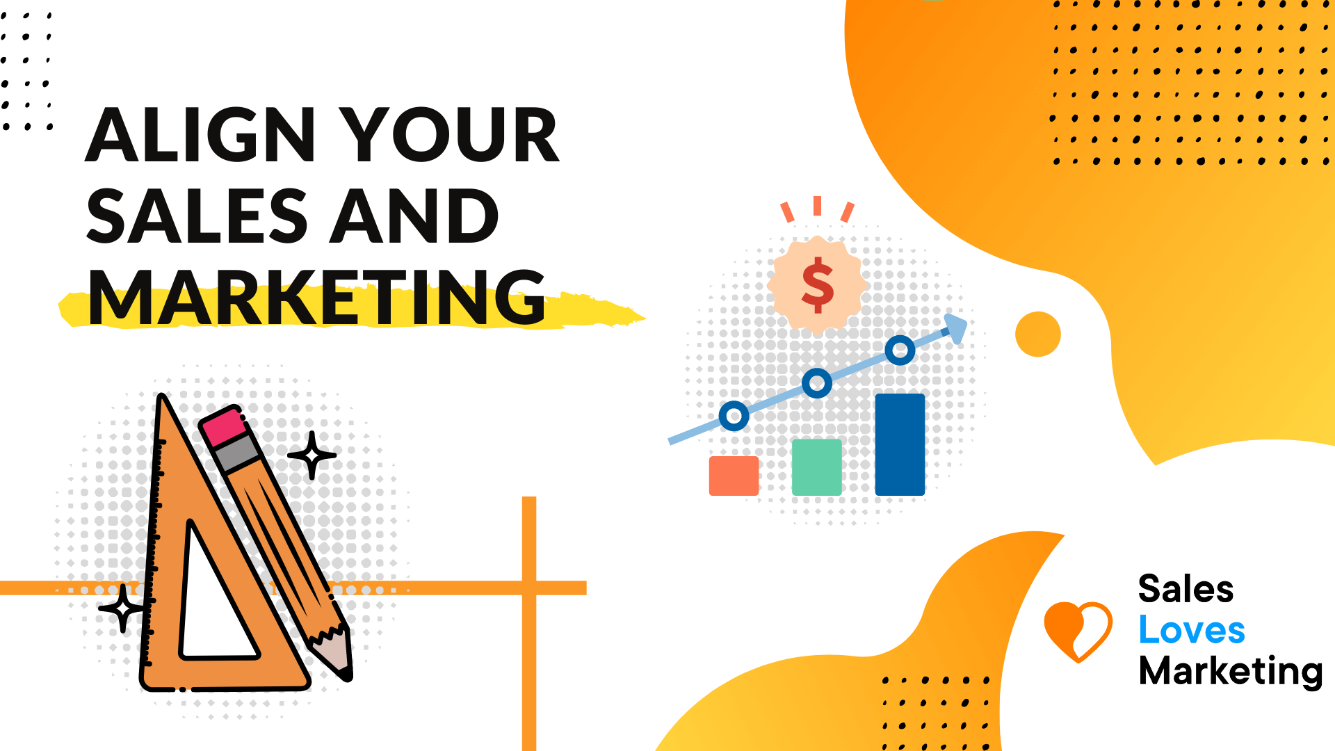 Aligning marketing and sales which bring the business huge benefits like generating more revenue