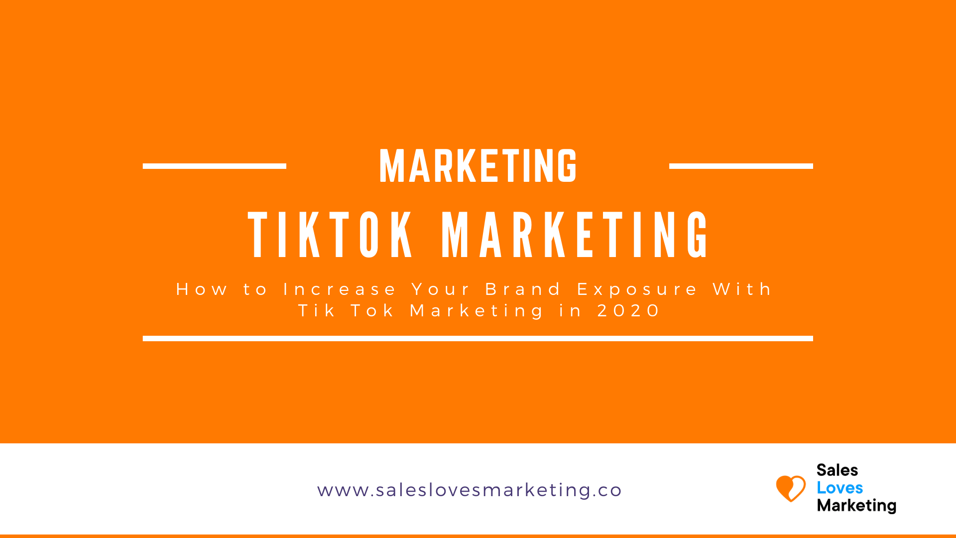 Increase your social presence and brand exposure by start using TikTok Marketing