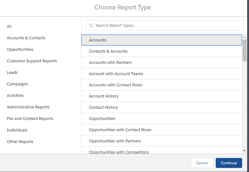 Create any sales report you want with Salesforce