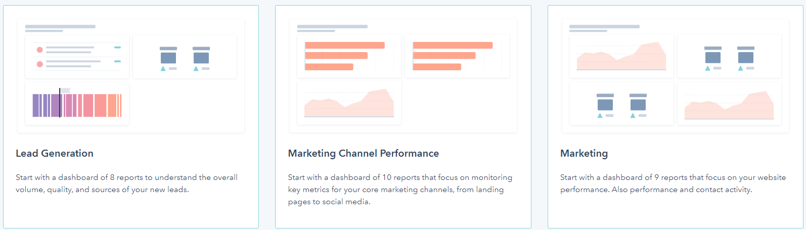 Hubspot can be used for lead generation, marketing and a lot more
