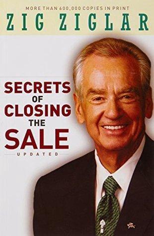 The secrets of closing a sale book cover by Zig Ziglar