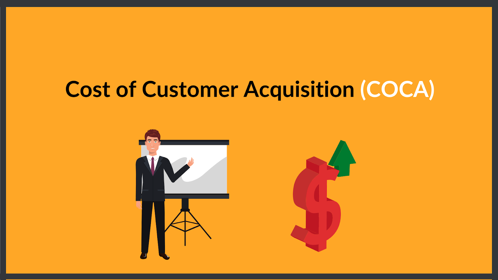 cost of customer acquisition (coca), also known as CAC