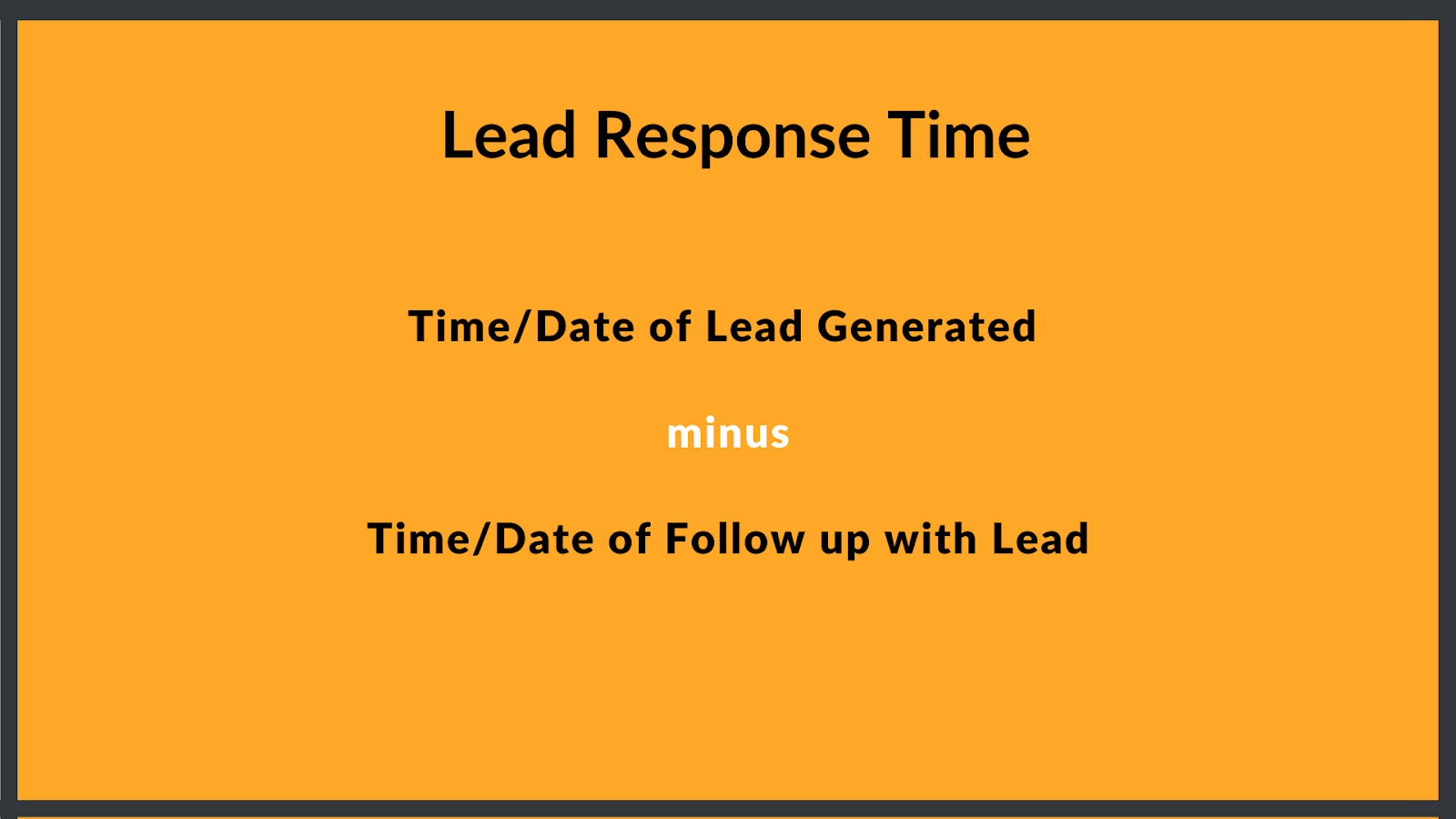 how to calculate lead response time for your business