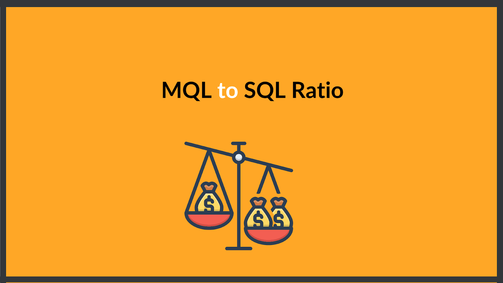 mql to sql ratio
