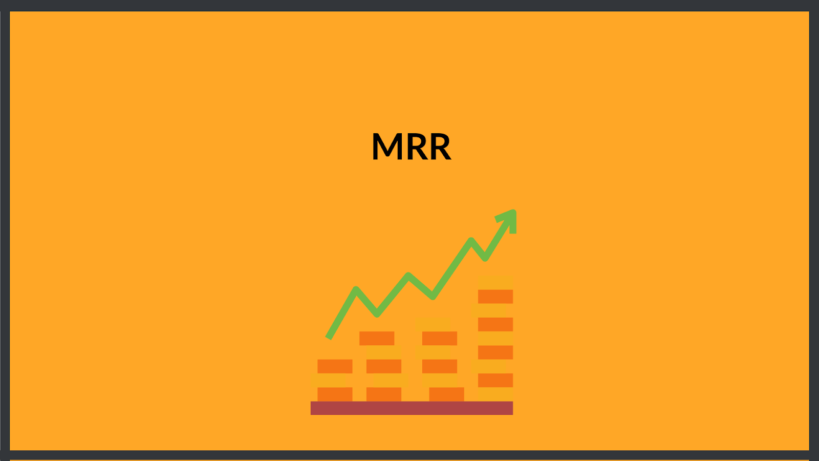 Monthly Recurring Revenue = MRR