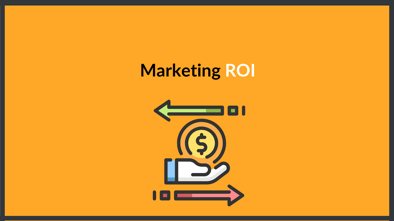 Marketing ROI, return on investment