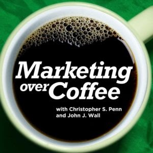 Hear about the new marketing trends in this podcast; marketing over coffee