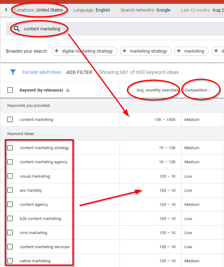 get to know more about keywords with the google keyword planner