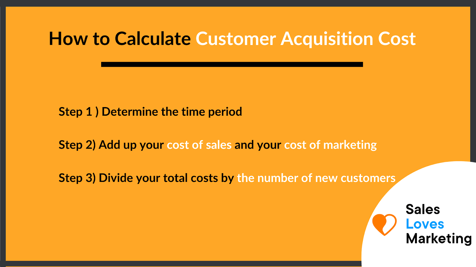 How to calculate cac explained in three easy steps