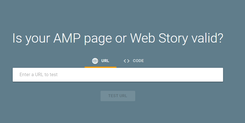 how to check if your page is apm or web story valid
