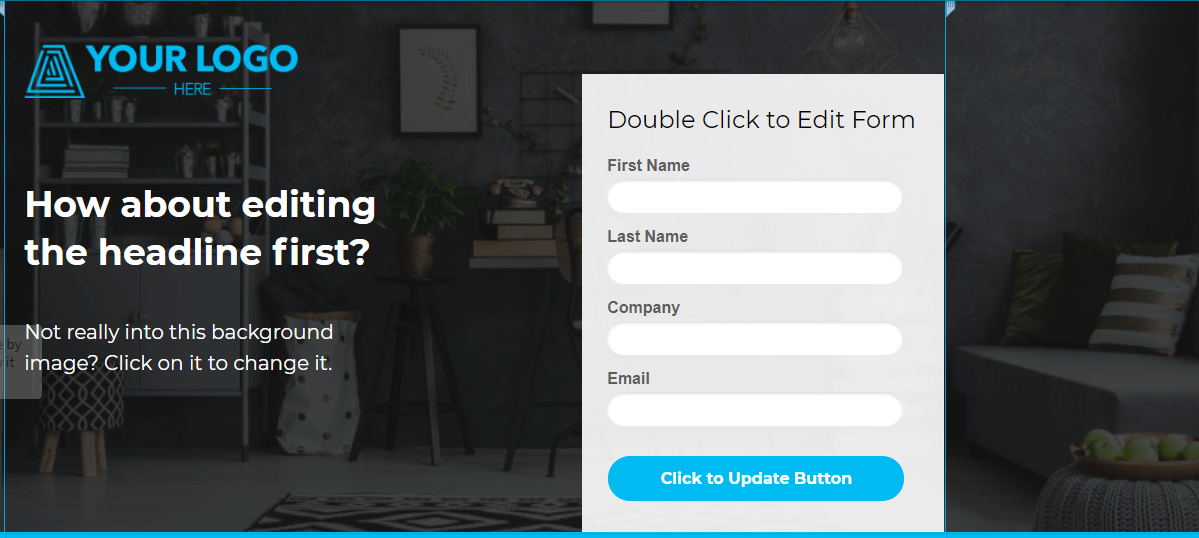 build custom forms for your website easily with Unbounce