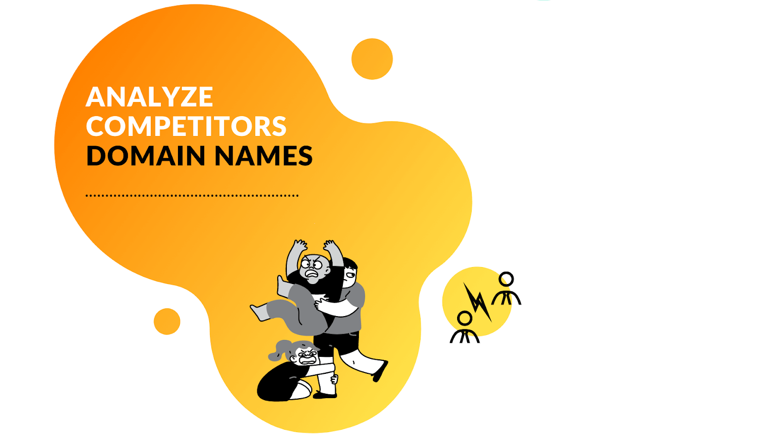Analyze competitor domain names when picking a new one