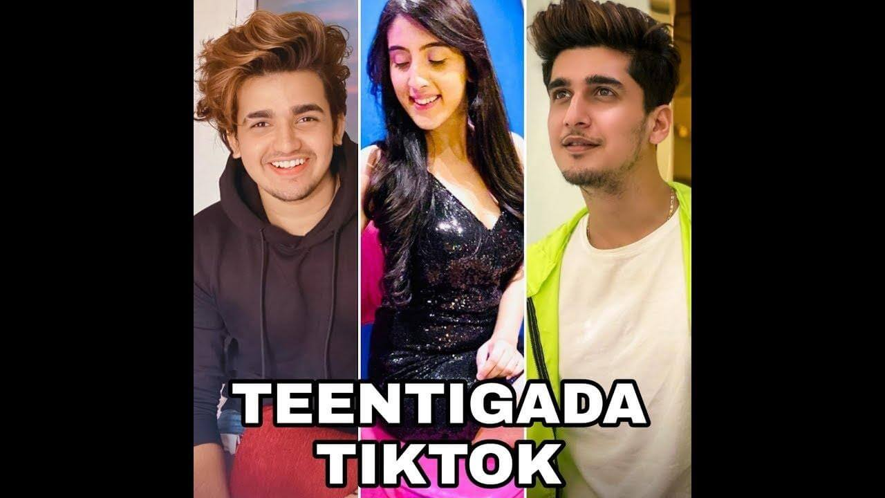 example of popular tiktok creators - Teentigada