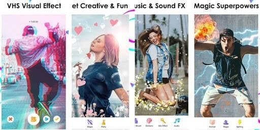 Use tiktok filters and effects to make your video's more fun