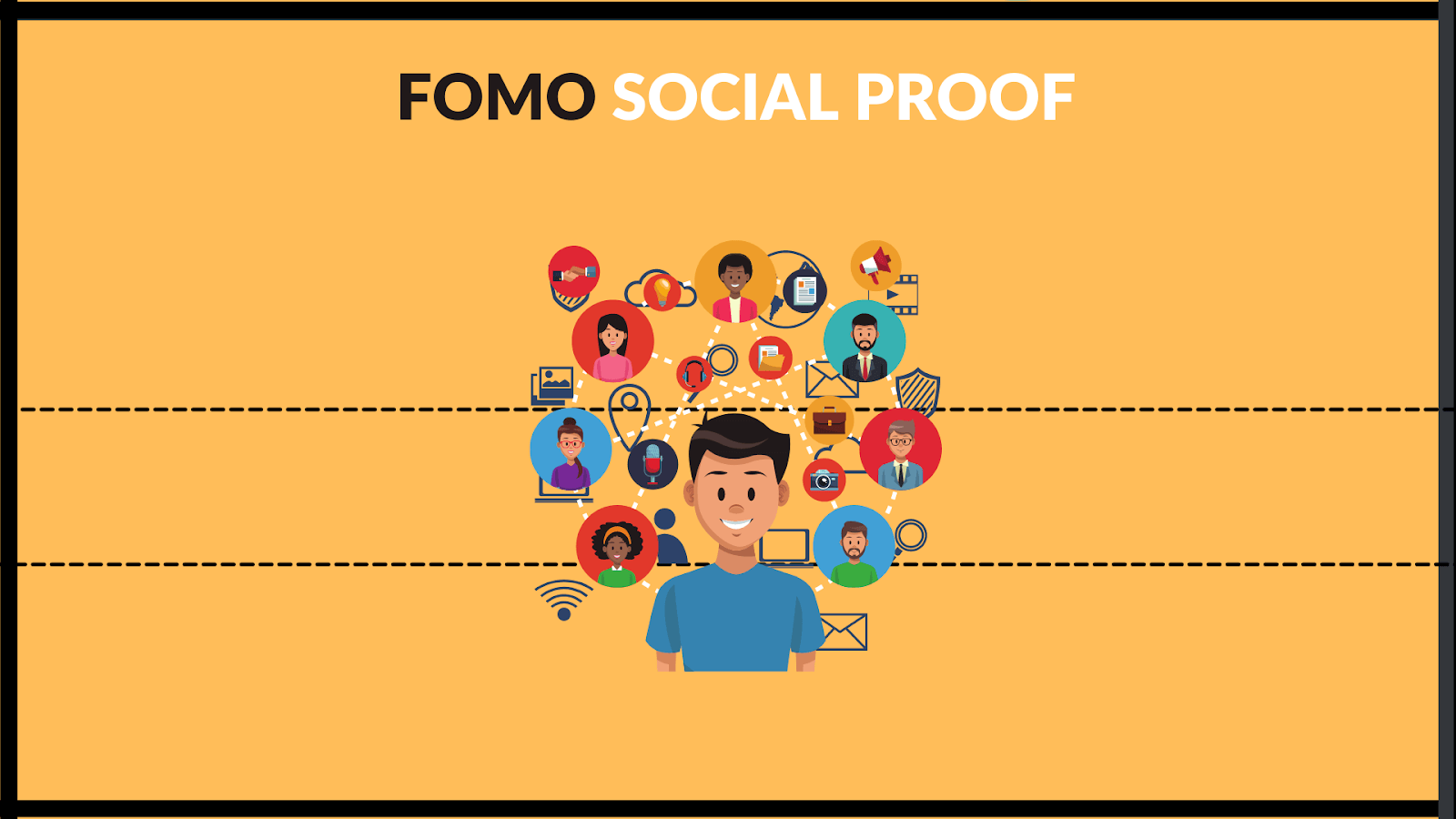 Add social proof as a FOMO to your marketing or website