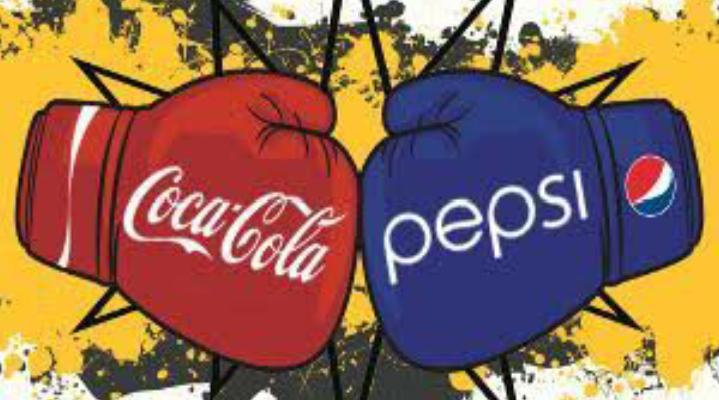 coca cola vs pepsi. ad