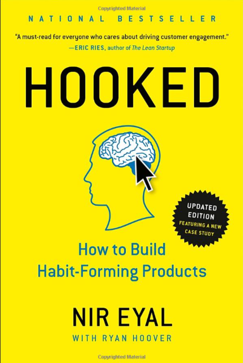 Hooked book written by Eric Ries