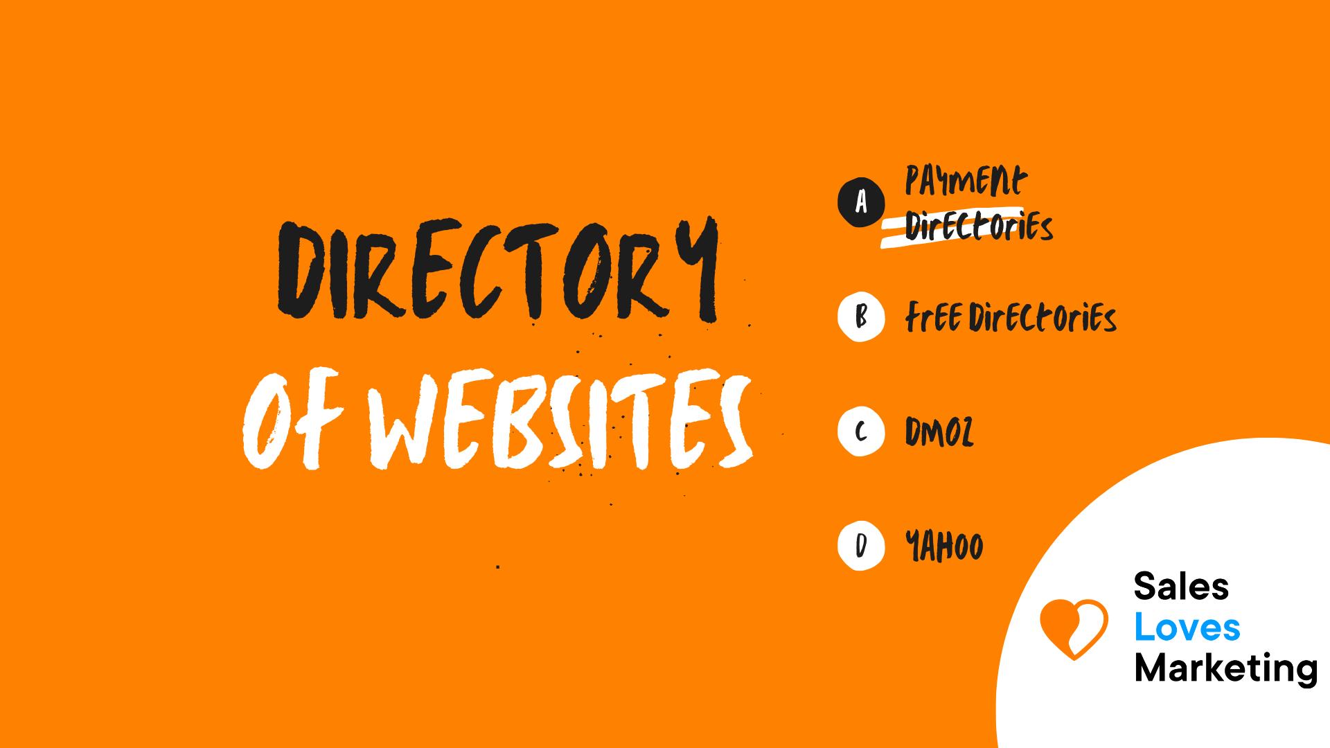 Directory of Websites