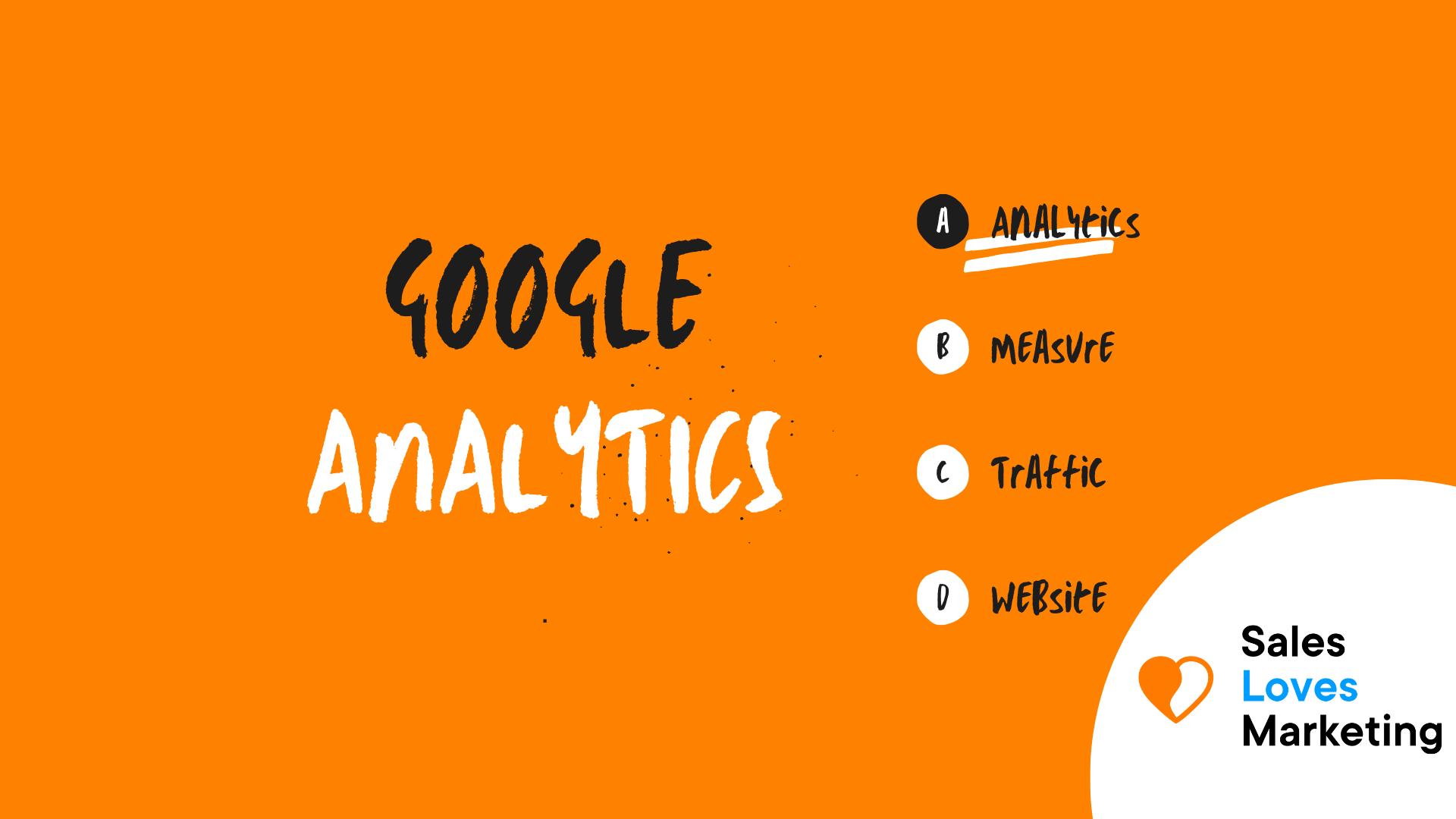 Google Analytics (GA)