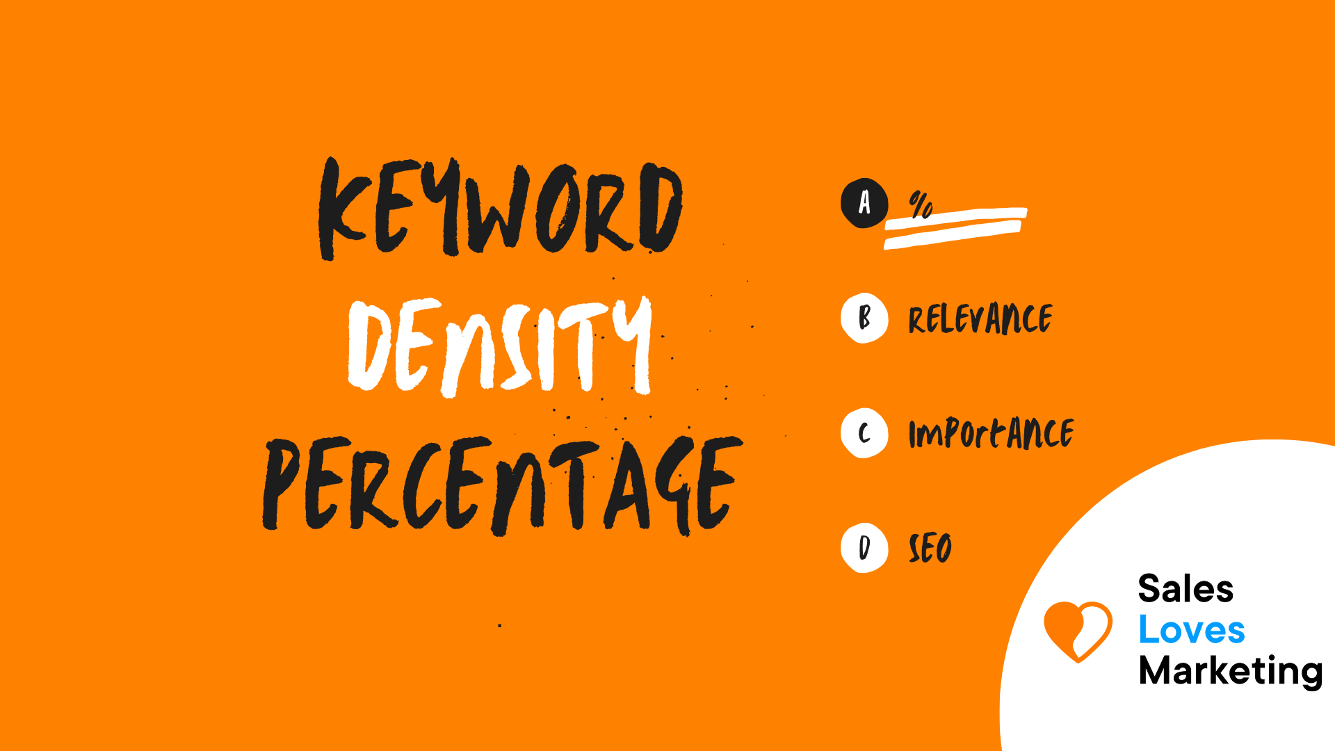 Keyword Density Percentage