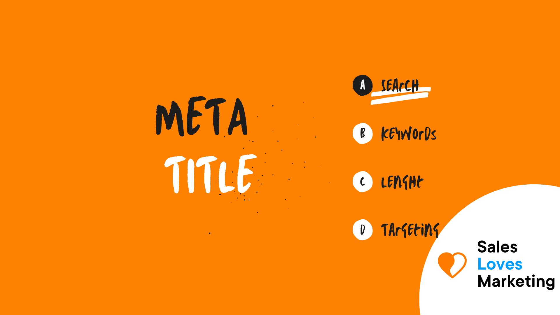Meta Title
