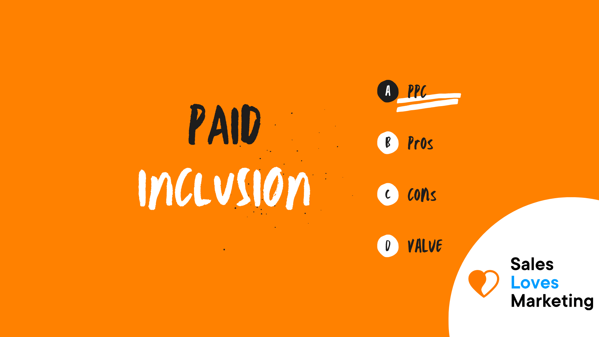 Paid Inclusing