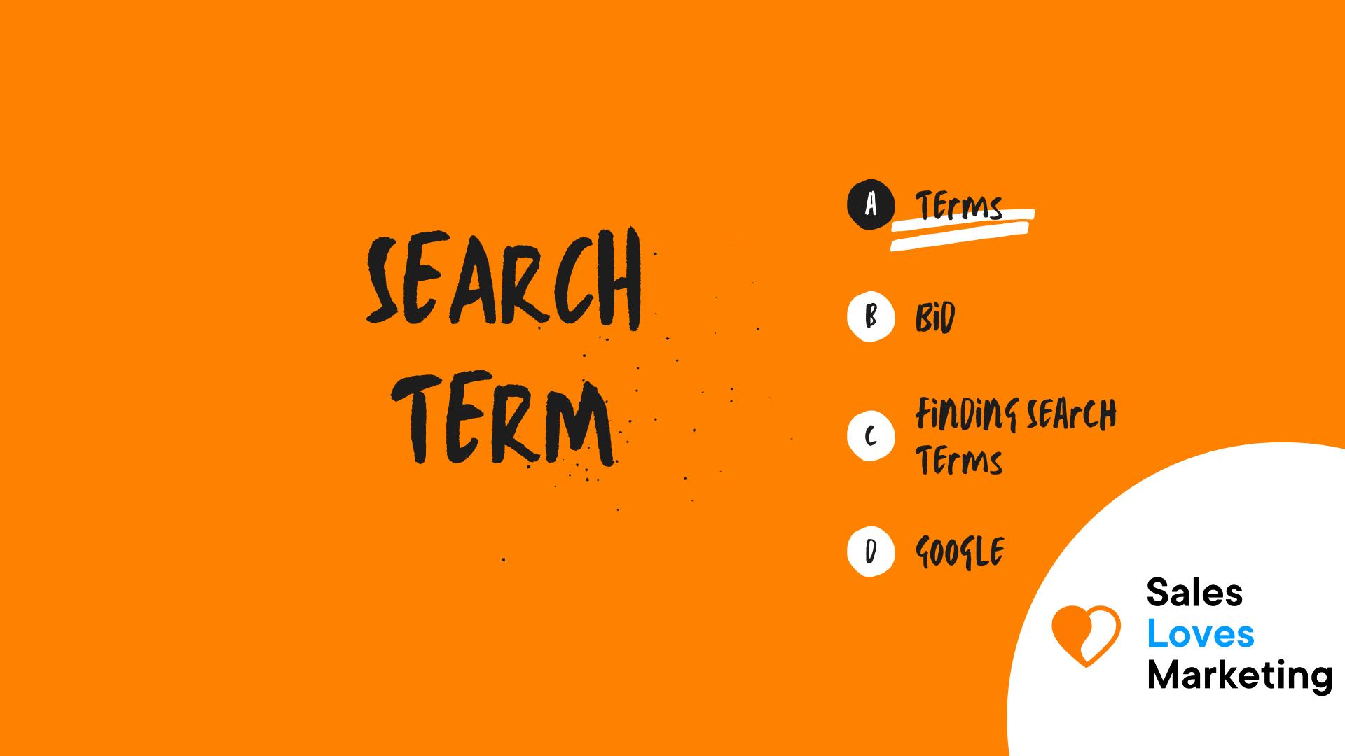 Search Term