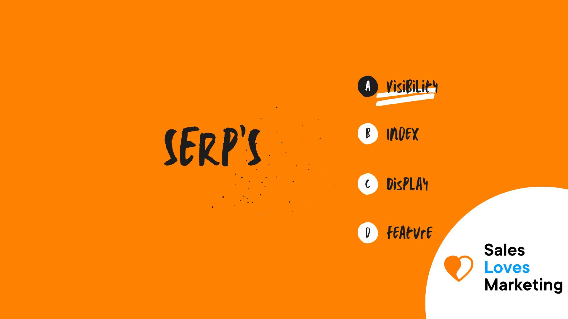 SERP's
