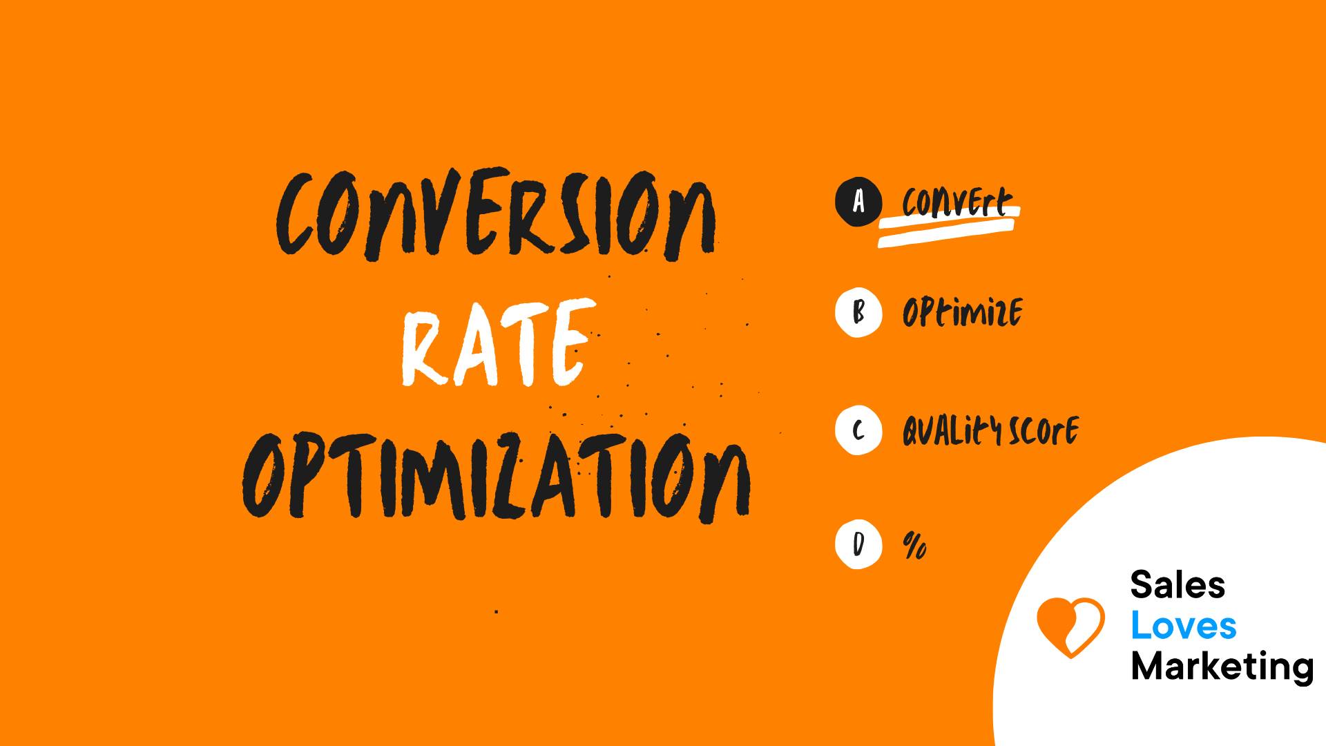 Conversion Rate Optimization (CRO)