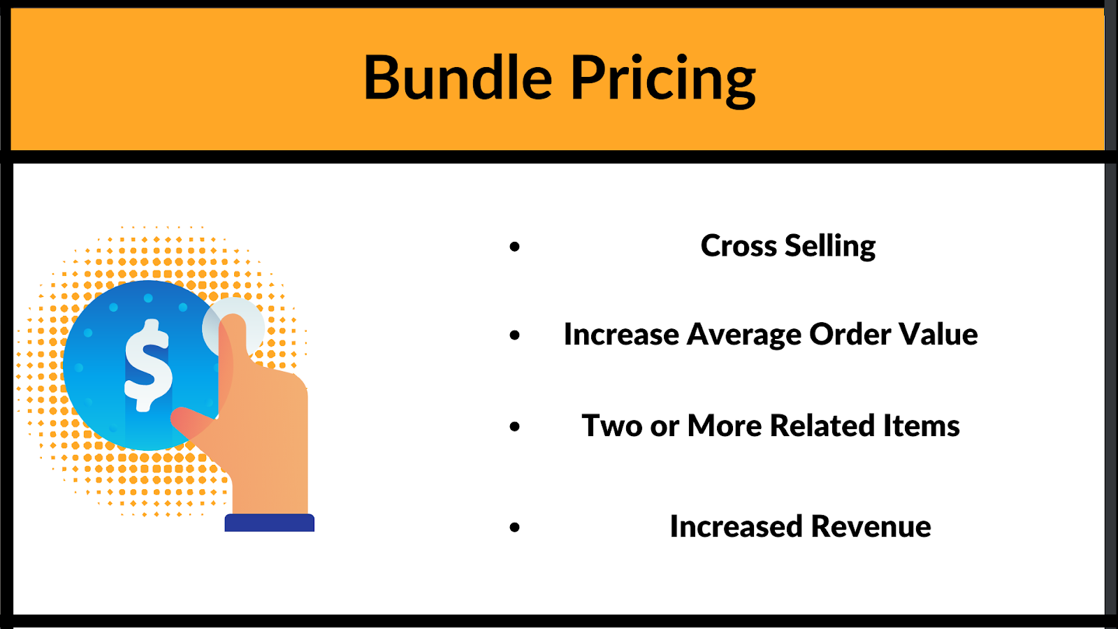 What are the different elements of bundle pricing