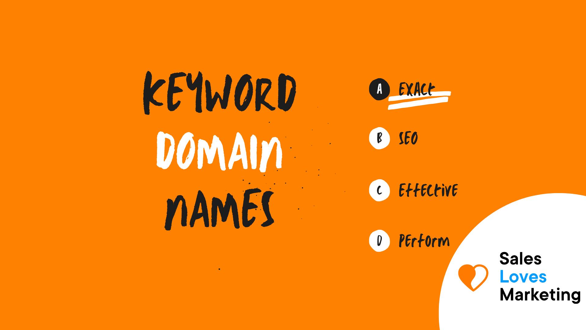 Keyword Domain Names