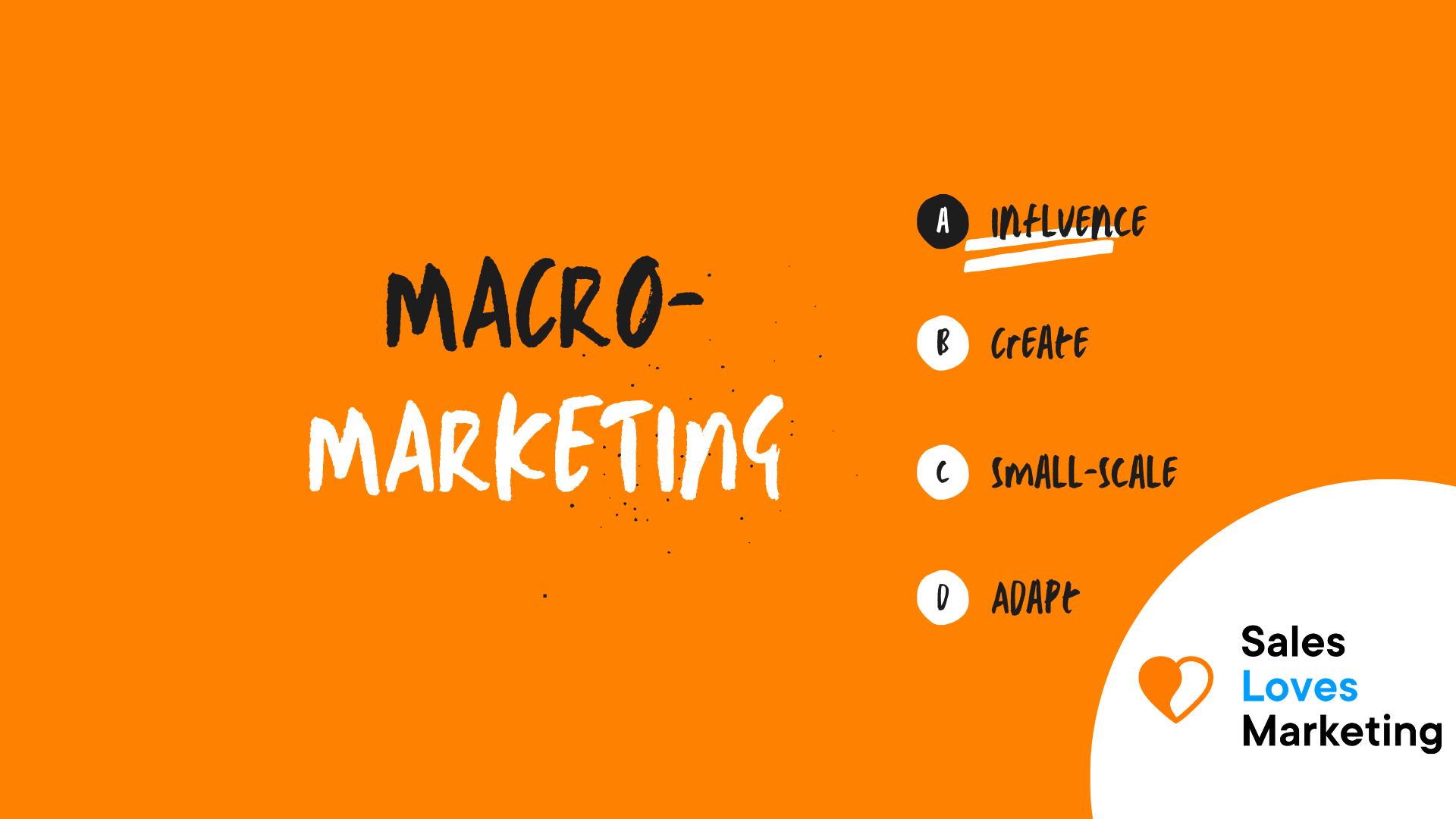 Macro Marketing