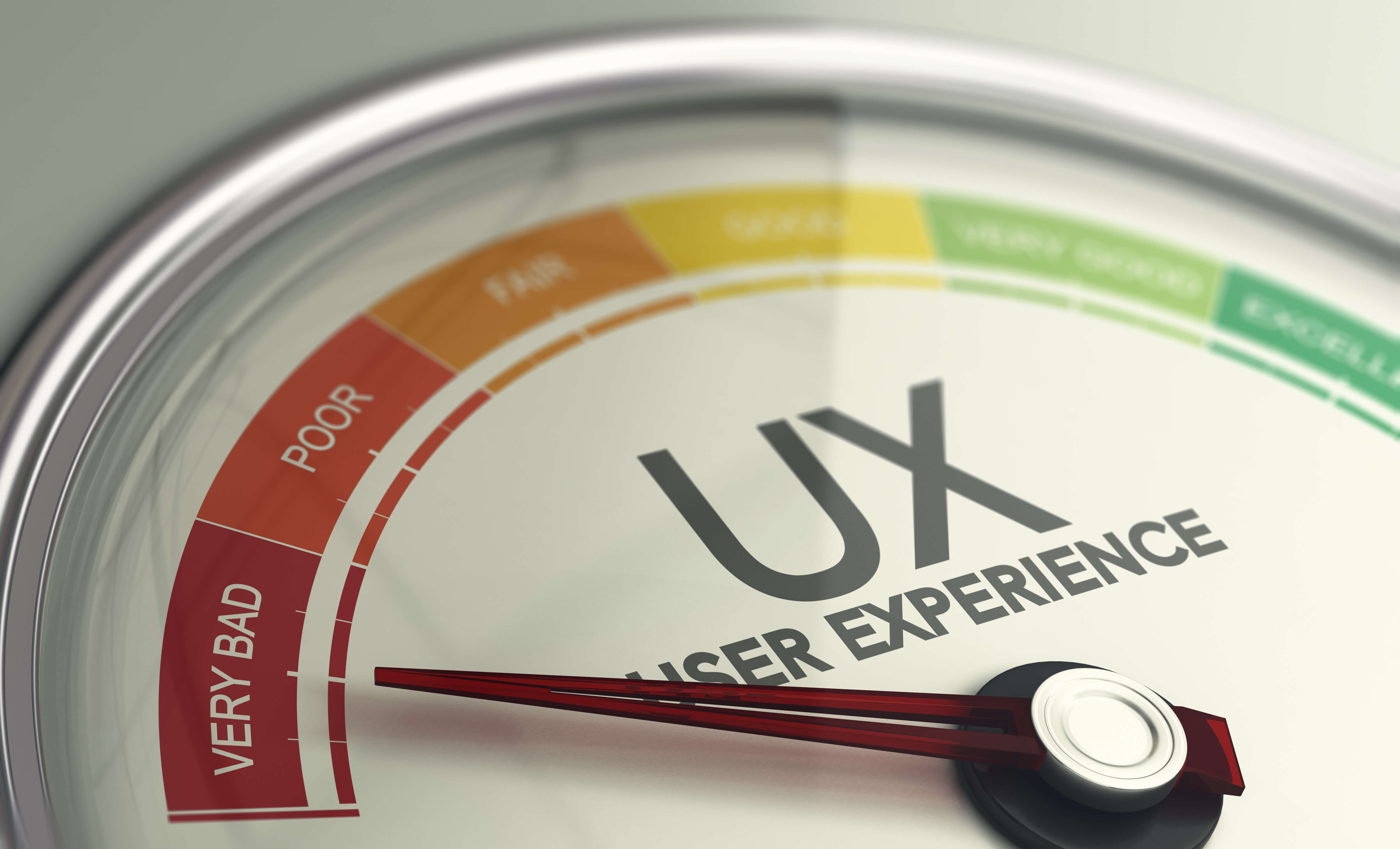 A bad user experience will hurt your conversion rates