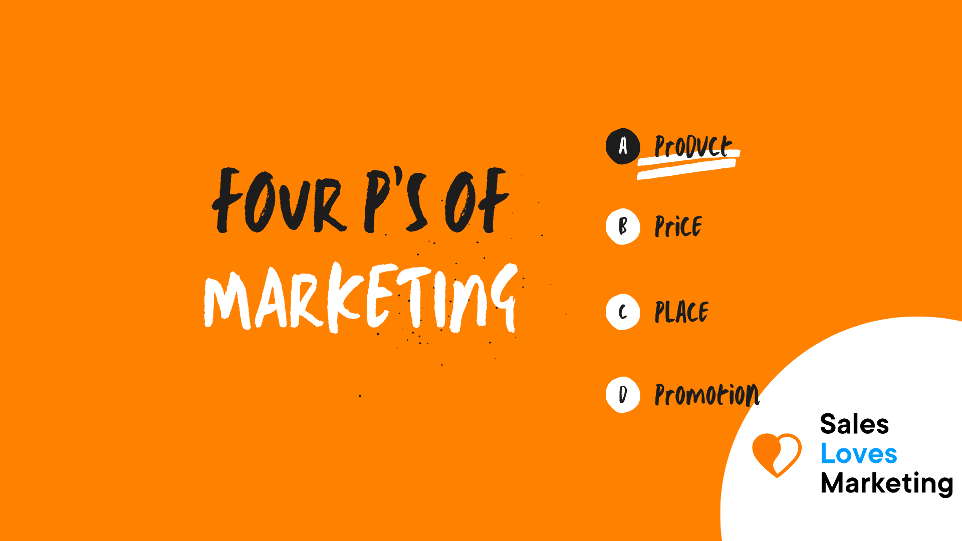 Four P's of marketing