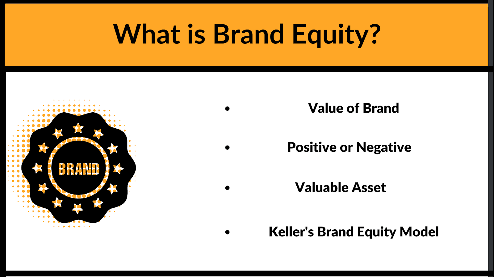 What is Brand Equity? What are the facets of it