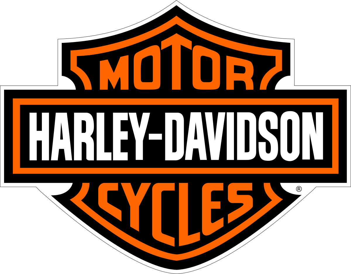 Harley davidson logo, great example of high brand equity