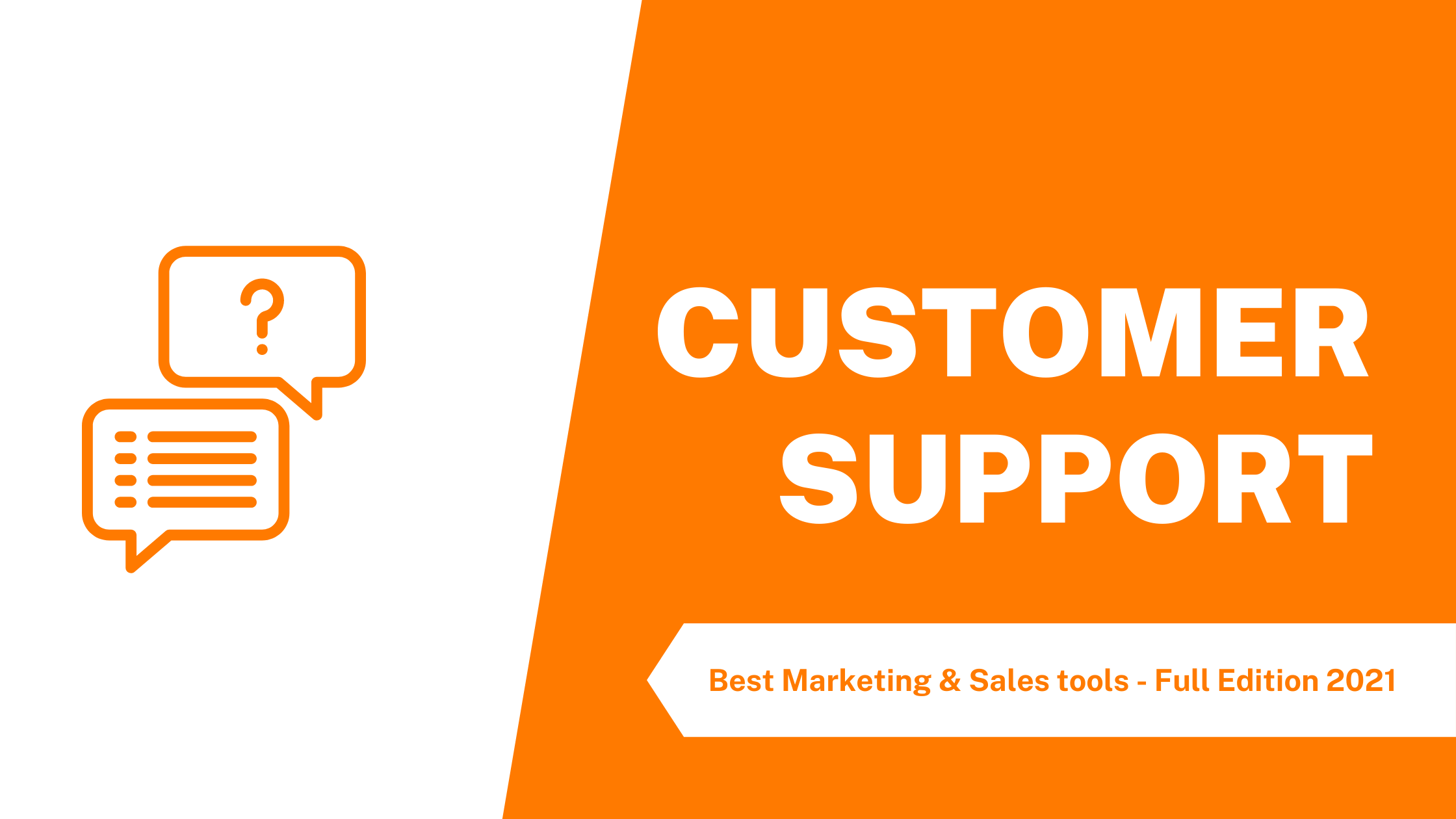 The best customer support tools for your business