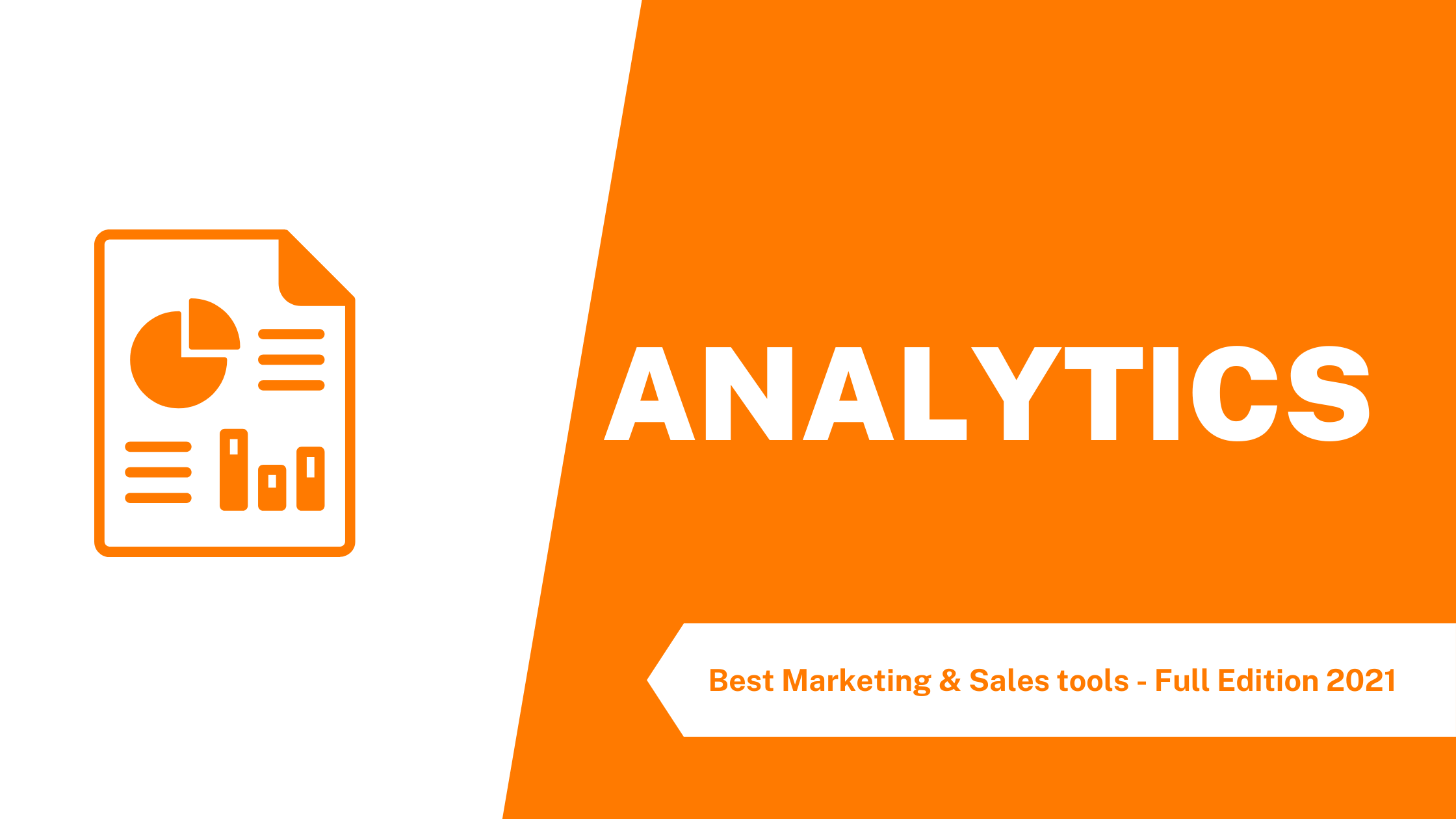 The best analytics tools for your business