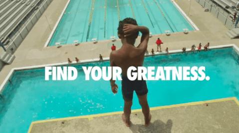 Nike during olympics doing ambush marketing