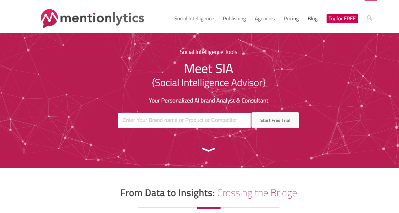 get a AI brand analyst with MentionLytics