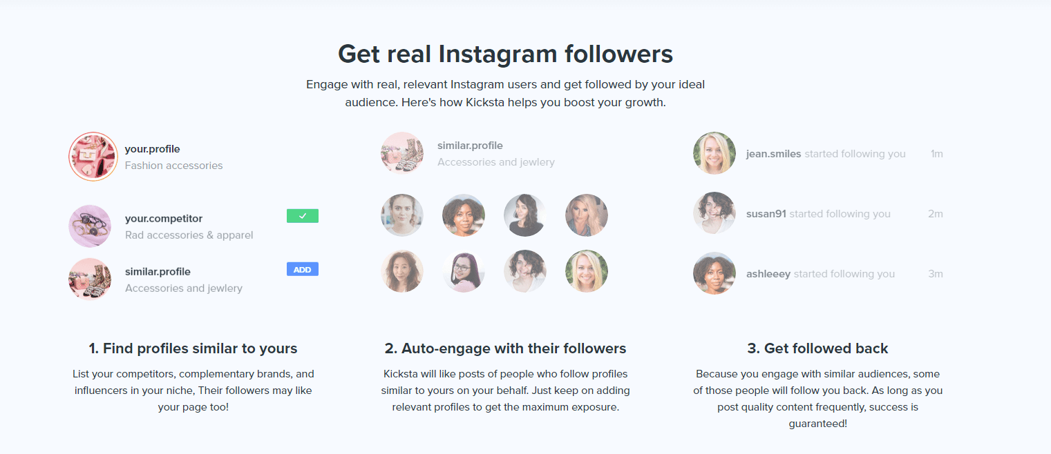 Grow your instagram account with real followers