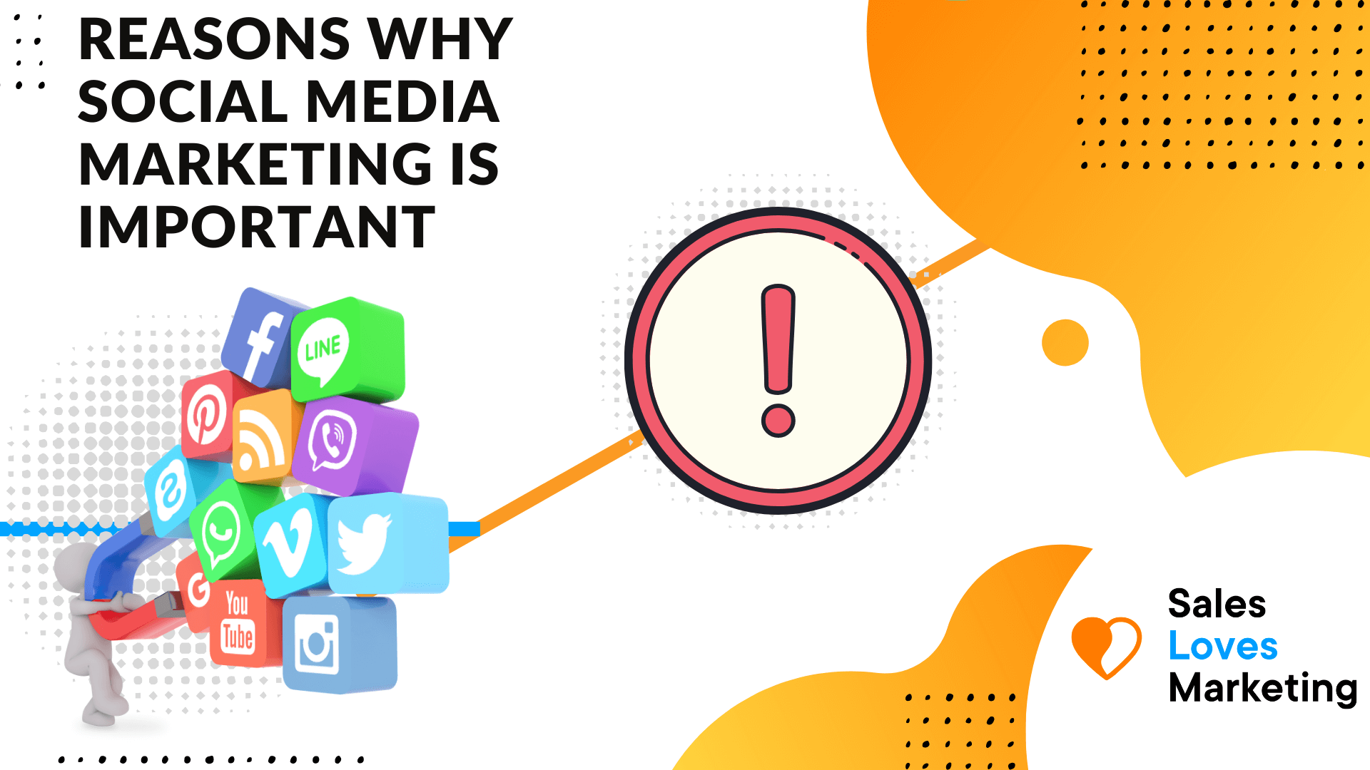 Why social media marketing is important for your business and how it can help you to grow your business.