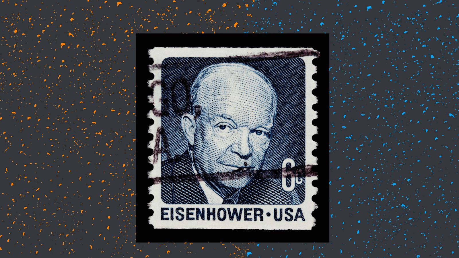 image of eisenhower, the creator of the productivity matrix