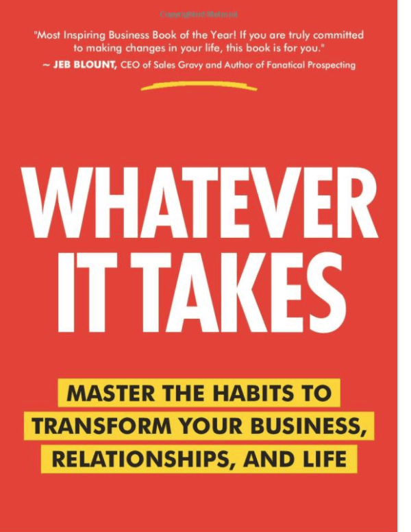 Whatever it takes bookcover by Brand Bornancin